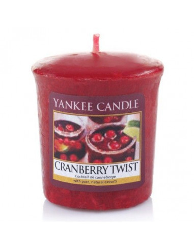 Votive Cranberry Twist