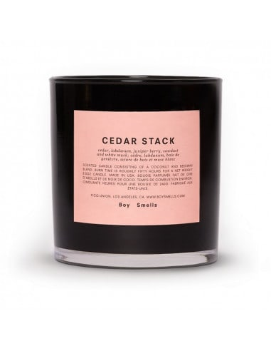 Bougie Cedar Stack - BOY SMELLS