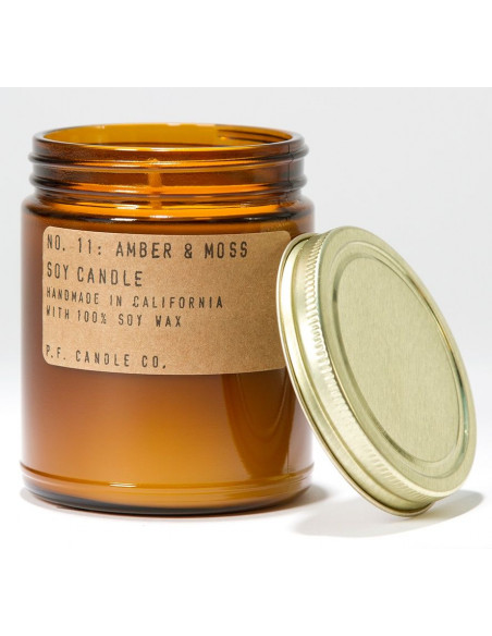 Amber and Moss - Grande Bougie PF Candle