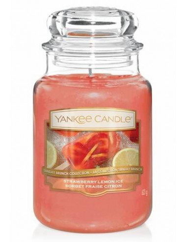 Strawberry Lemon Ice Yankee Candle