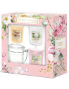Coffret Garden Hideaway : 3 votives & un photophore