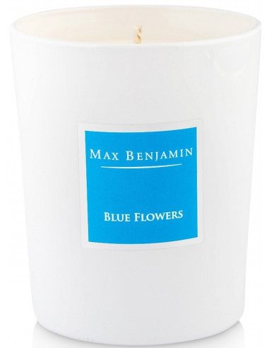 Bougie Blue Flowers - Max Benjamin