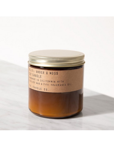 Bougie Amber & moss Large - P.F. Candle Co.