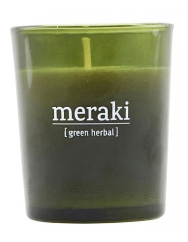 Bougie Green Herbal 60gr - Meraki