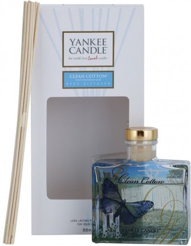 Clean Cotton - Diffuseur Yankee Candle