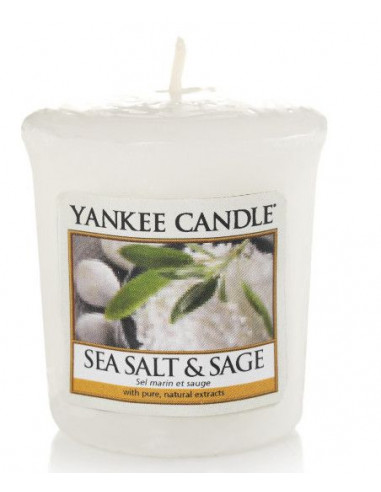 Votive Sea Salt and Sage