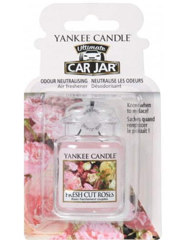 Car Jar Fresh Cut Roses