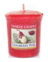 Votive Cranberry Pear