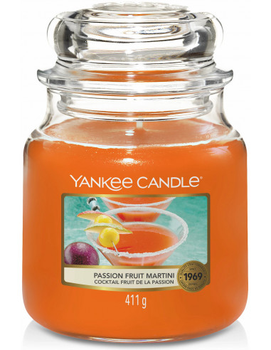 Yankee Candle - Bougie Fruit de la passion Martini