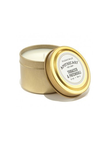 Tobacco and Patchouli - Apothecary Bougie de Voyage