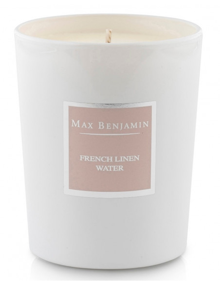 Bougie French Linen - Max Benjamin