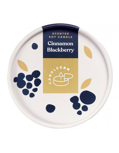 CANDLE CAN - CINNAMON BERRY
