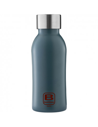 Bouteille isotherme - Bleu teal 350ml