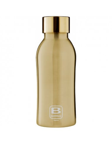 Bouteille isotherme - Or brossé 350ml