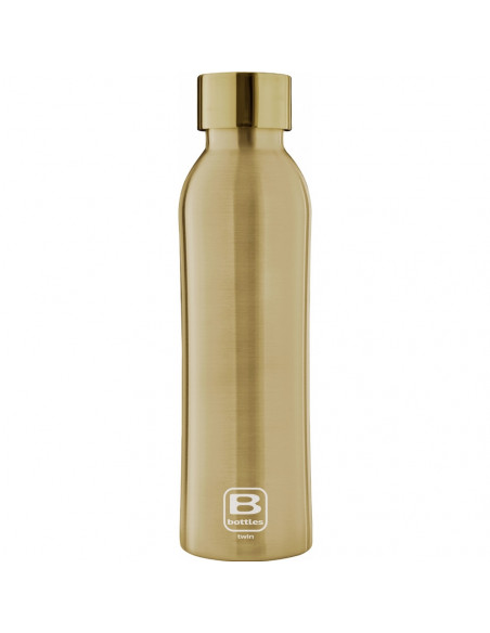 Bouteille isotherme - Or brossé 500ml