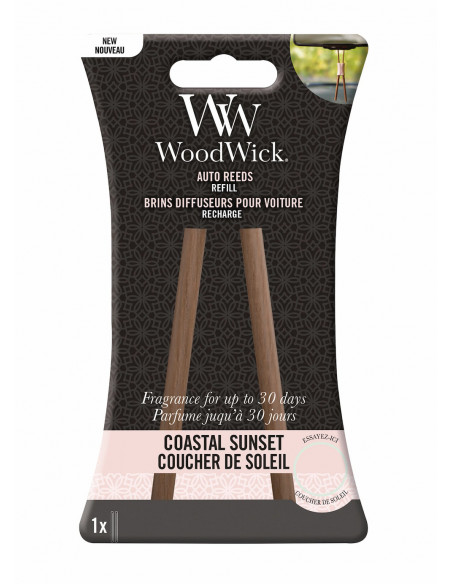 Recharge diffuseur voiture WoodWick - Coastal Sunset