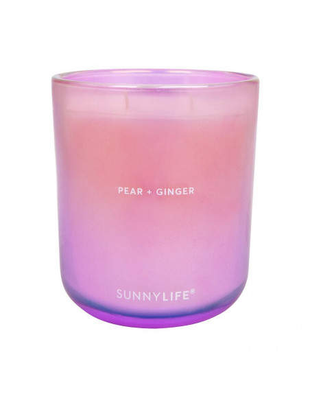 Bougie Poire & Gingembre - Sunnylife