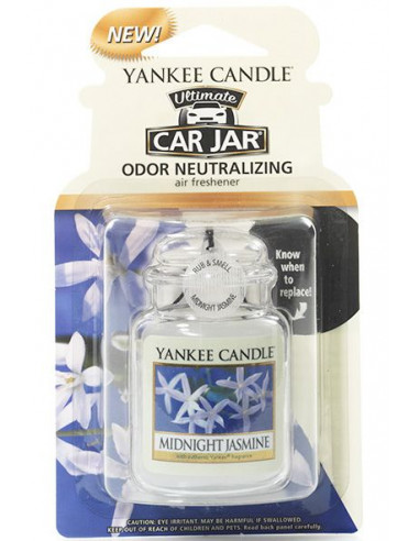 Car Jar Jasmin Yankee Candle