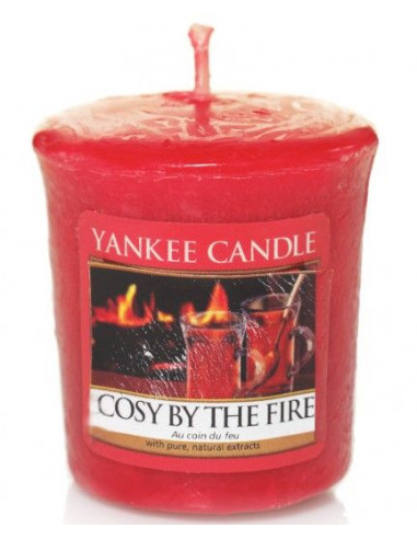 Votive Cosy by the Fire