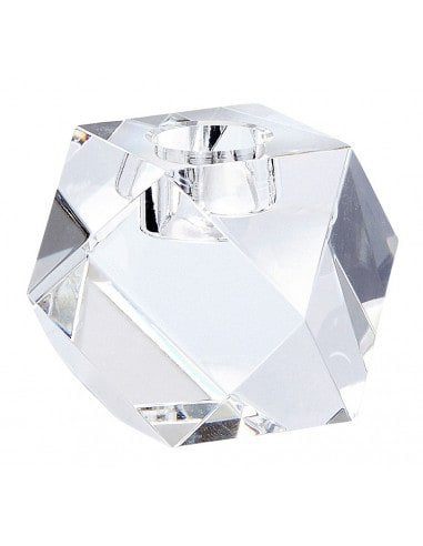 Bougeoir Diamant Verre