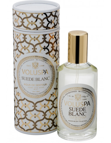 Suede Blanc - Spray Voluspa Maison Blanc