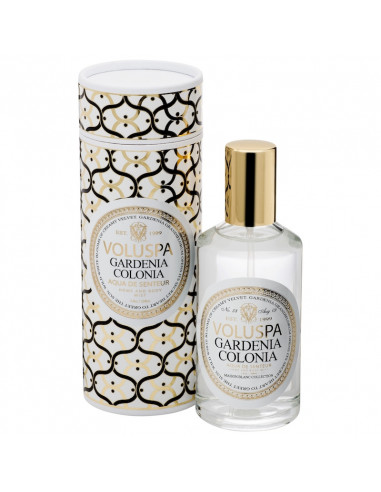 Gardenia Colonia - Spray Voluspa Maison Blanc