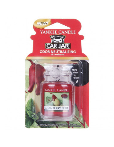 Car Jar Cranberry Pear