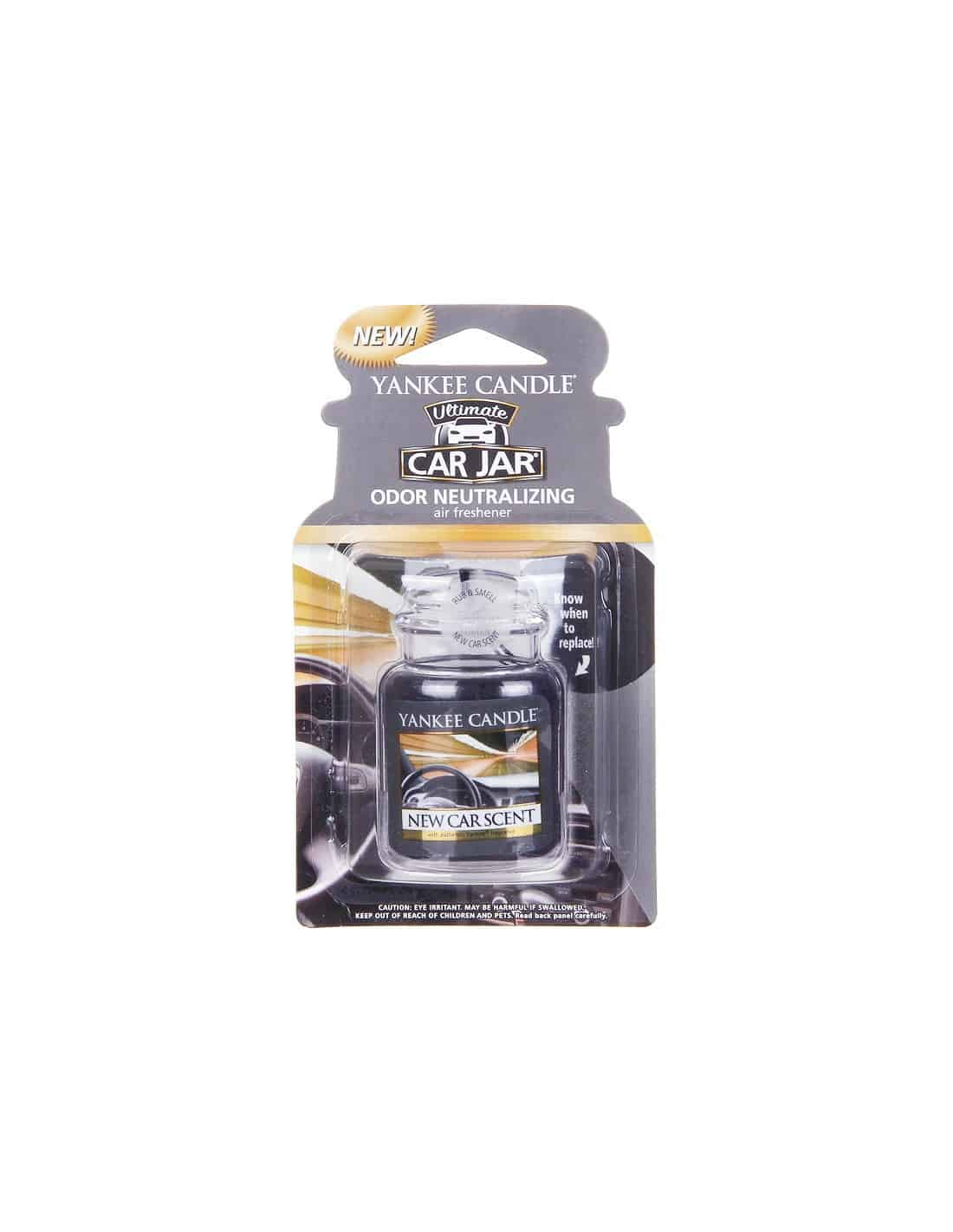 senteur voiture yankee candle new car scent ma jolie bougie. Black Bedroom Furniture Sets. Home Design Ideas