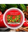 Cartouche Red Apple Wreath - Scenterpiece