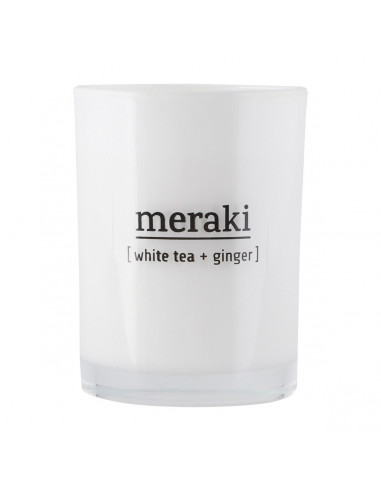 Bougie White tea et Ginger - Meraki