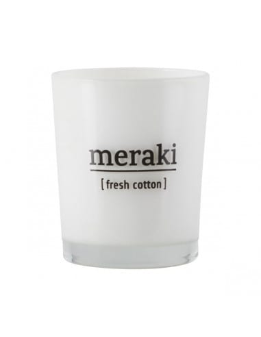 Mini bougie Fresh Cotton - Meraki
