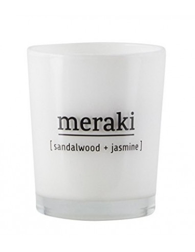Mini bougie Sandalwood + Jasmine - Meraki