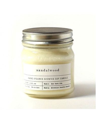 Sandalwood - Mason Jar Candles