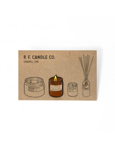 Pin's PF Candle CO