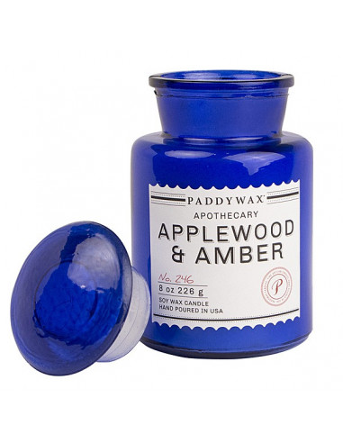 Applewood Amber - Blue Apothecary