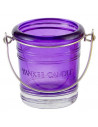 Seau Photophore Votive Violet