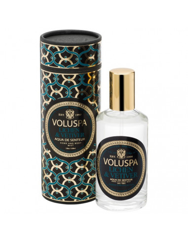 Lichen & Vetiver - Spray Voluspa Maison Noir