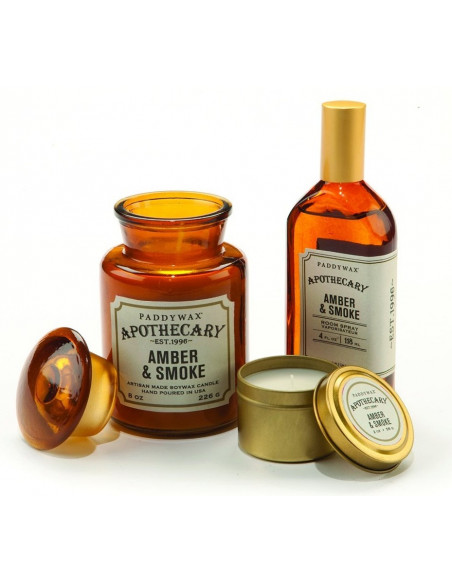 Amber and Smoke - Apothecary Candle Paddywax