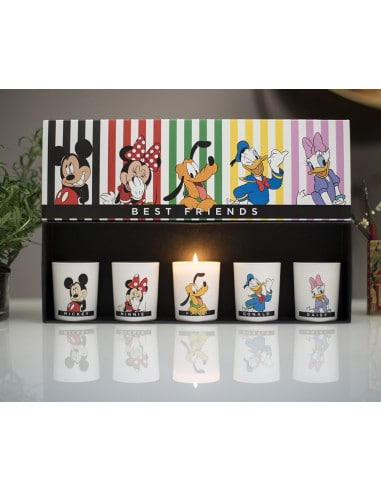 Coffret Bougies Best Friends Disney