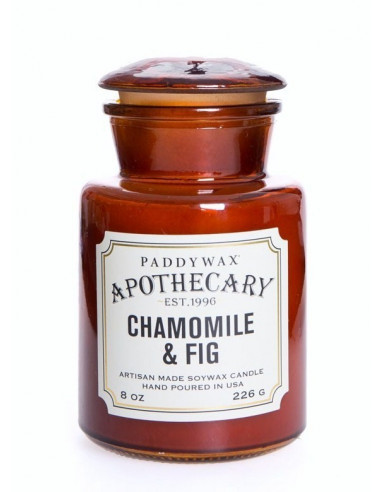 Chamomil and Fig - Apothecary Candle Paddywax