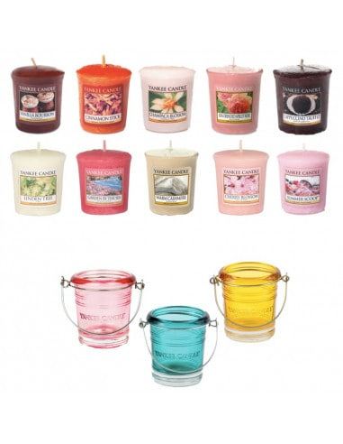 Pack 10 Votives et Photophore