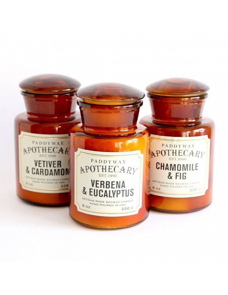 Geranium and Basil - Apothecary Candle Paddywax