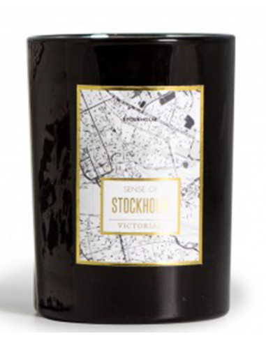 Map Stockholm - Bougie Victorian