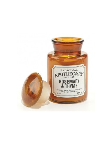 Rosemary and Thyme - Apothecary Candle Paddywax