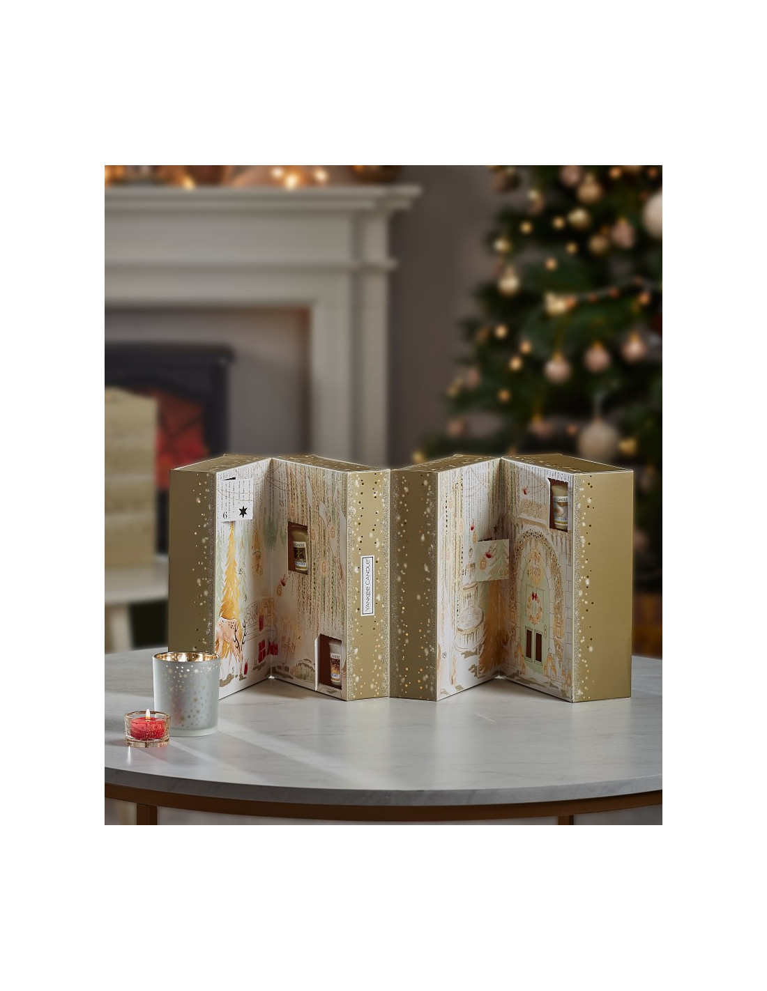 yankee candle noel calendrier collector de l 39 avent 2018. Black Bedroom Furniture Sets. Home Design Ideas