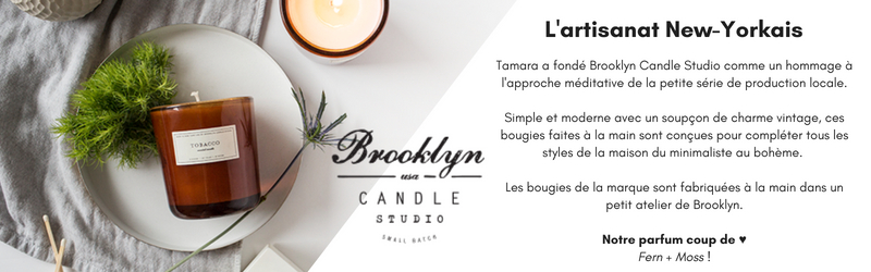 Bougies Brooklyn Candle Studio - Ma Jolie Bougie