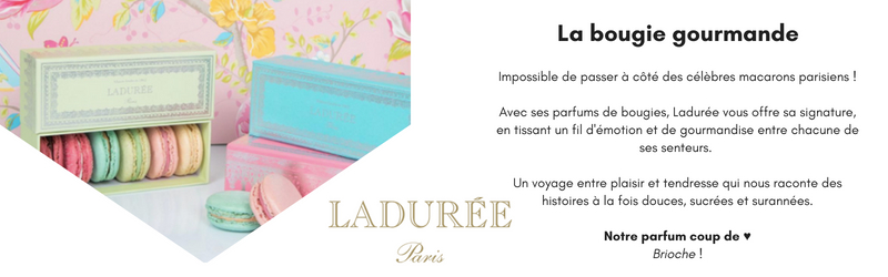 Bougies Laduree - Ma Jolie Bougie
